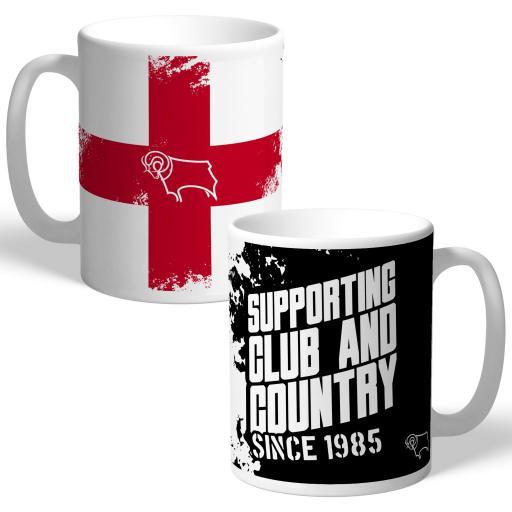 Derby County Club and Country Mug