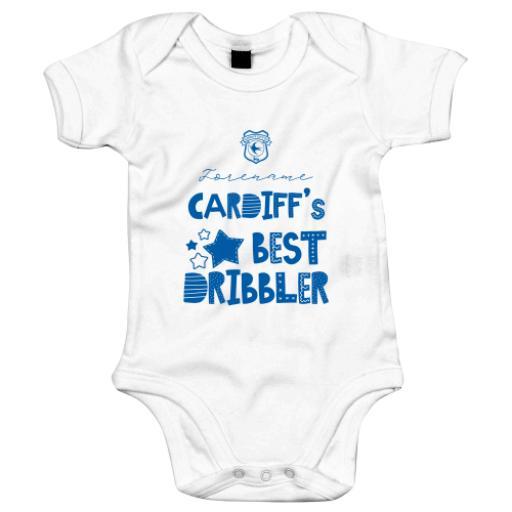 Cardiff City Best Dribbler Baby Bodysuit