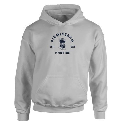 Birmingham City FC Vintage Hashtag Hoodie