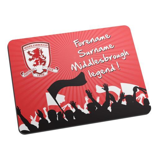 Middlesbrough FC Legend Mouse Mat