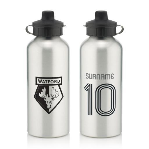 Watford FC Retro Shirt Water Bottle