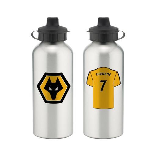 Wolves Aluminium Water Bottle