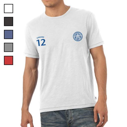 Leicester City FC Mens Sports T-Shirt
