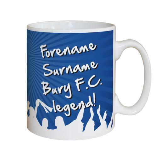 Bury FC Legend Mug