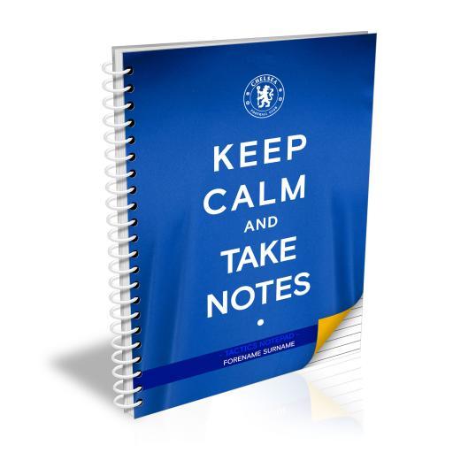 Chelsea FC Keep Calm Notebook