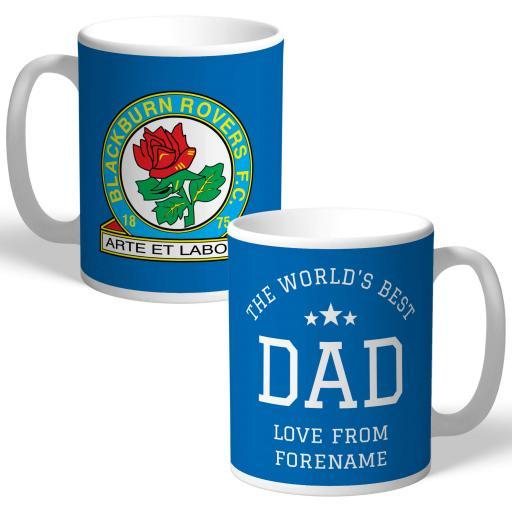 Blackburn Rovers FC World's Best Dad Mug