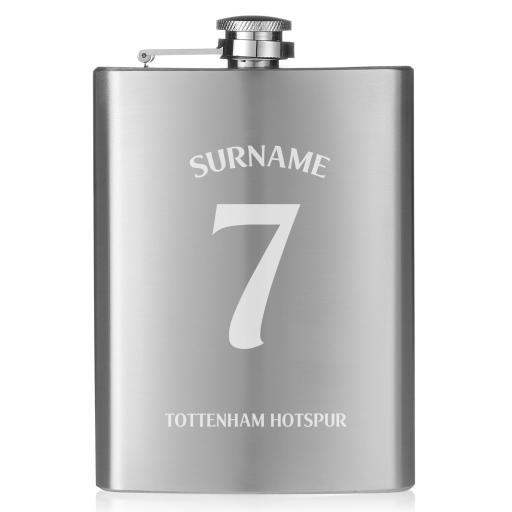 Tottenham Hotspur Shirt Hip Flask