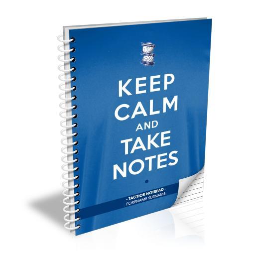 Birmingham City FC Keep Calm Notebook