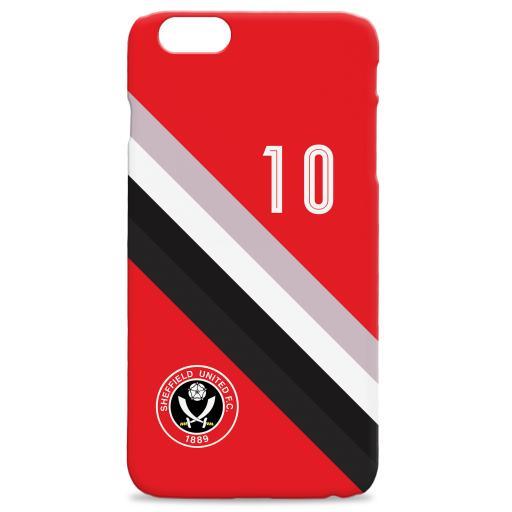 Sheffield United Stripe Hard Back Phone Case