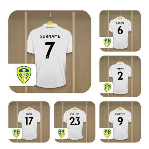 Leeds United FC Dressing Room Coasters