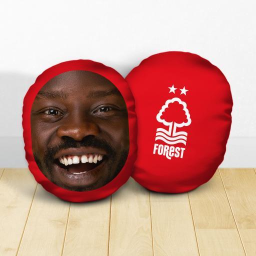 Personalised Nottingham Forest FC Crest Mush Cush