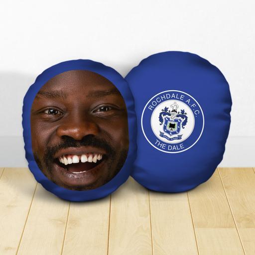 Personalised Rochdale AFC Crest Mush Cush