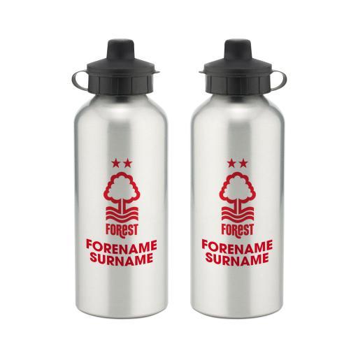 Nottingham Forest Bold Crest Water Bottle