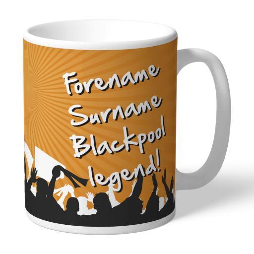 Blackpool FC Legend Mug