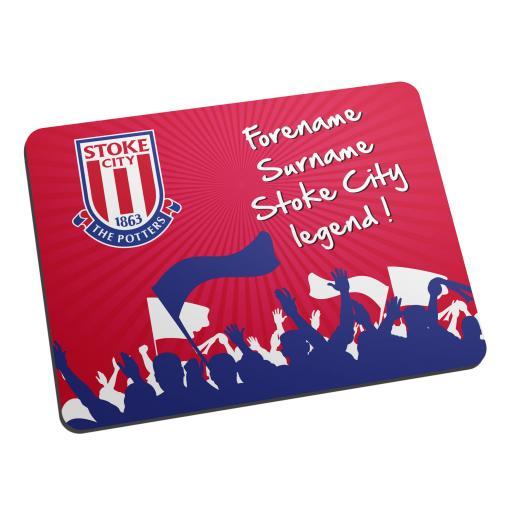 Stoke City FC Legend Mouse Mat