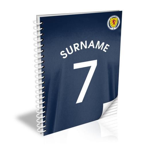 Scotland Shirt Notebook