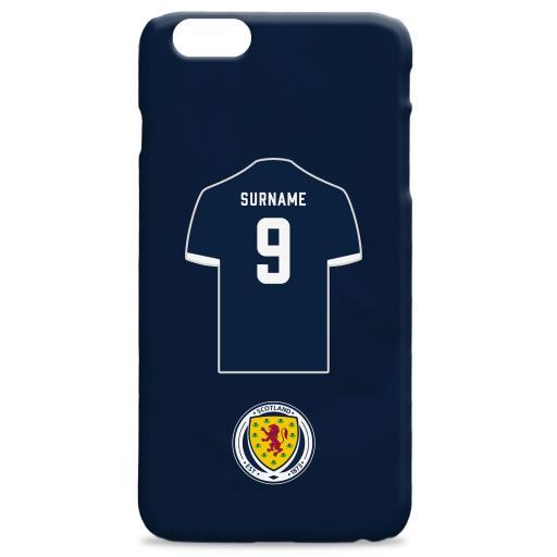 Scotland Shirt Hard Back Phone Case
