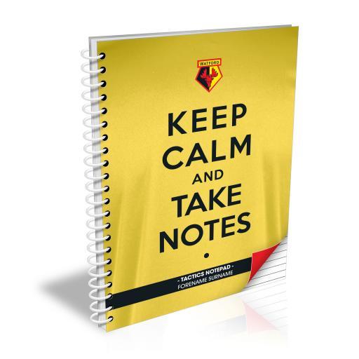 Watford FC Keep Calm Notebook