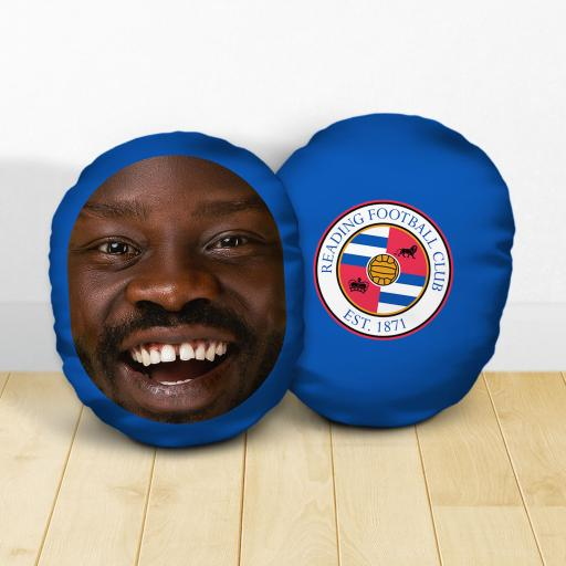 Personalised Reading FC Crest Mush Cush