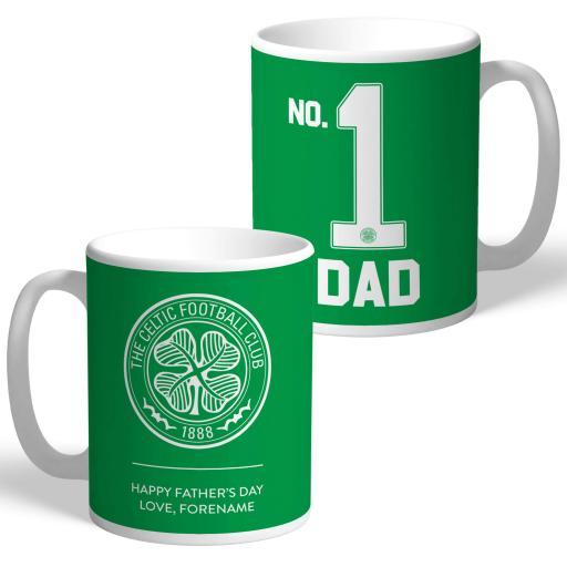Celtic FC No.1 Dad Mug