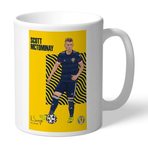 Scotland McTominay Art Mug