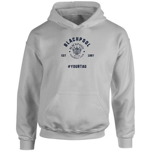 Blackpool FC Vintage Hashtag Hoodie