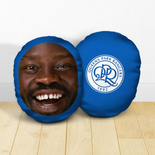 Personalised Queens Park Rangers FC Crest Mush Cush