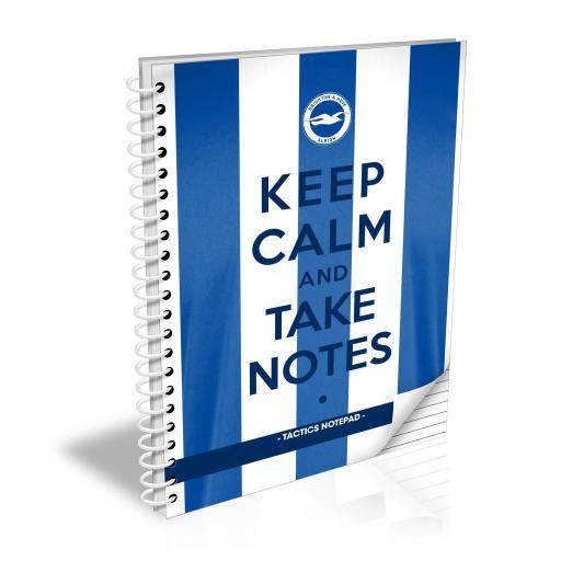 Brighton & Hove Albion FC Keep Calm Notebook