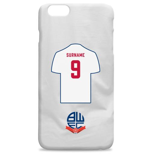 Bolton Wanderers FC Shirt Hard Back Phone Case