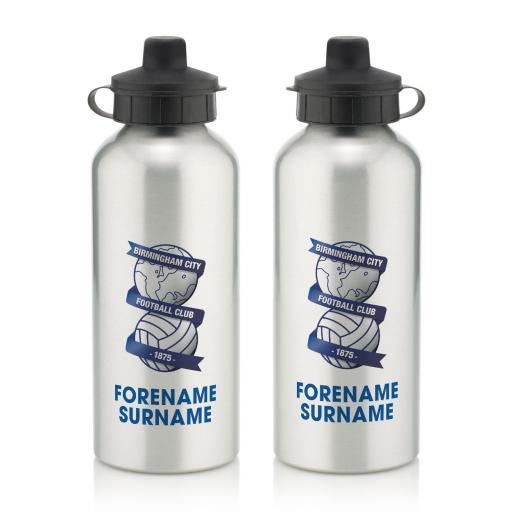 Birmingham City Bold Crest Water Bottle