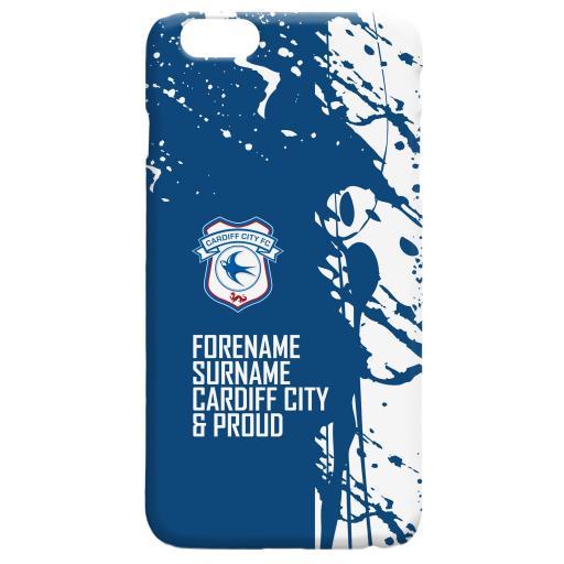 Cardiff City FC Proud Hard Back Phone Case