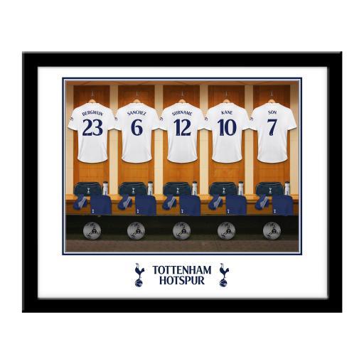 Tottenham Hotspur Dressing Room Framed Print