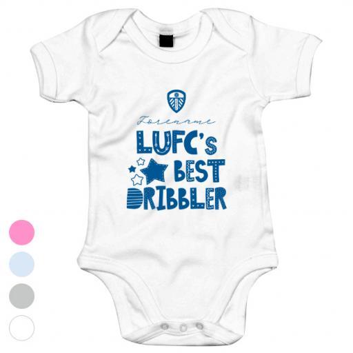 Leeds United FC Best Dribbler Baby Bodysuit