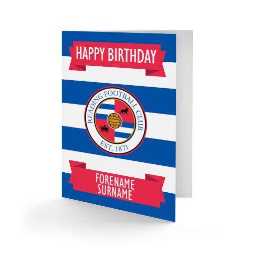 Reading FC Crest Birthday Card