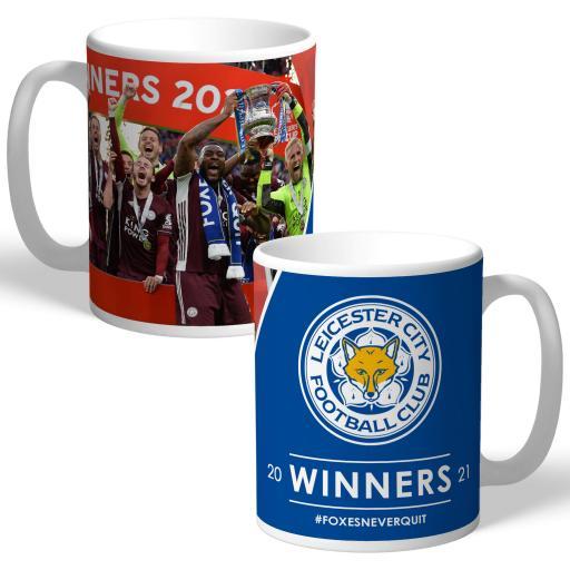Leicester City FC Winners 2021 Mug