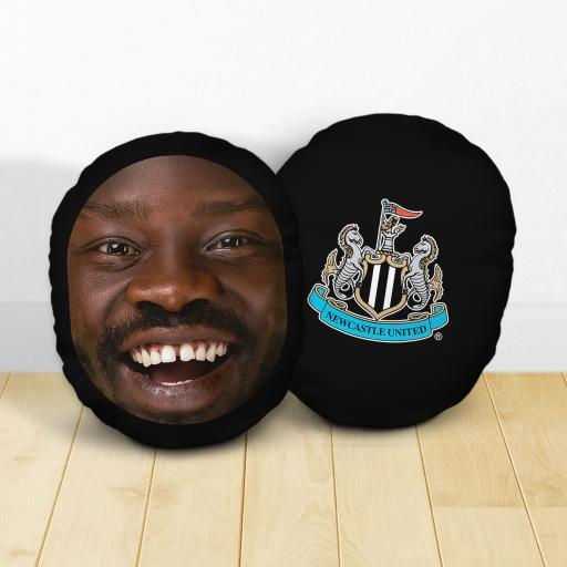 Personalised Newcastle United FC Crest Mush Cush