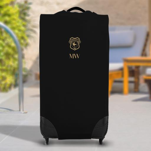 Cardiff City FC Initials Caseskin Suitcase Cover (Large)