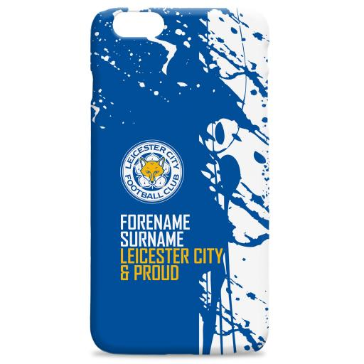 Leicester City FC Proud Hard Back Phone Case