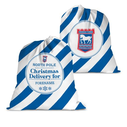 Ipswich Town FC Christmas Delivery Santa Sack