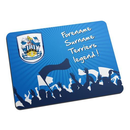Huddersfield Town Legend Mouse Mat