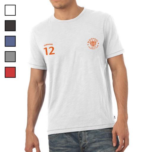 Blackpool FC Mens Sports T-Shirt