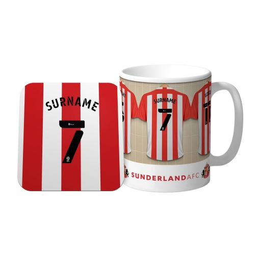 Sunderland Dressing Room Mug & Coaster Set