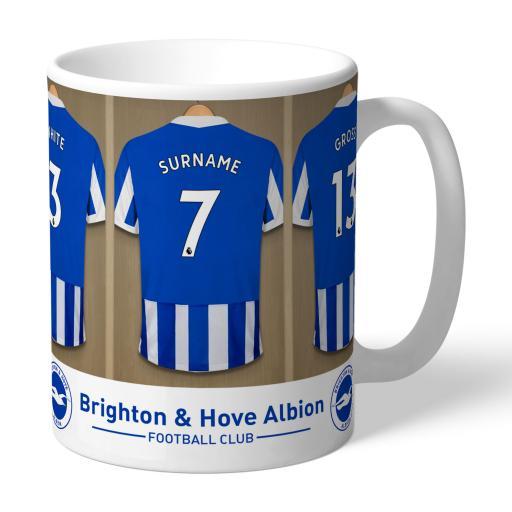 Brighton & Hove Albion FC Dressing Room Mug