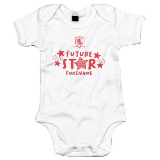 Middlesbrough FC Future Star Baby Bodysuit