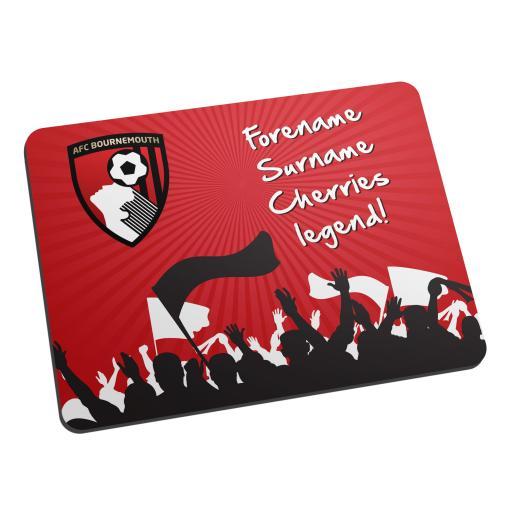 AFC Bournemouth Legend Mouse Mat