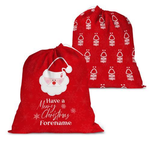 Nottingham Forest FC Merry Christmas Santa Sack
