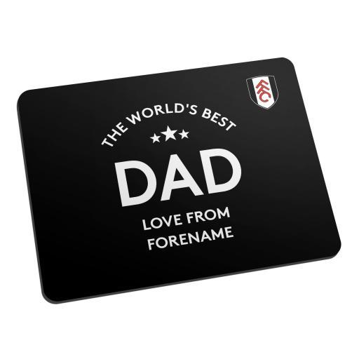 Fulham FC World's Best Dad Mouse Mat