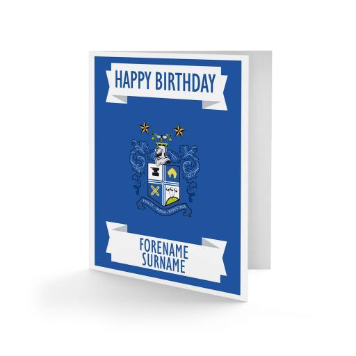 Bury FC Crest Birthday Card
