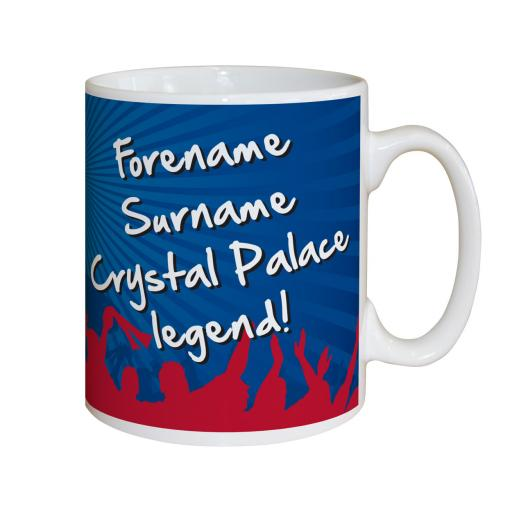 Crystal Palace FC Legend Mug