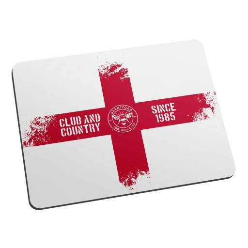Brentford FC Club and Country Mouse Mat